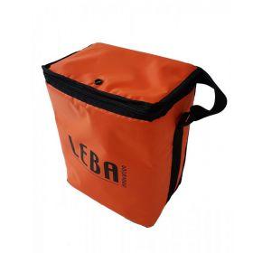 Leba Notebag - Polster-Tasche für 5 Tablets oder kleine Notebooks - Orange