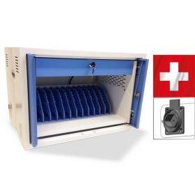 Tabletschrank Safelocker 12 für 12 Typ-J-Stecker